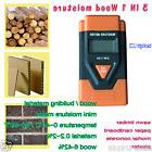 1PCS 3-in-1 Wood Building Material Moisture Meter Thermomete