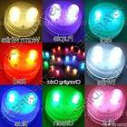 10 SUPERBRIGHT Premium Dual LED Submersible Floral Party Wed