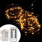 10M 100 LED Flexible USB Copper Wire RGB Fairy String Light
