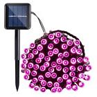 33ft 100 LED Solar String Lights Waterproof Outdoor Patio Ga
