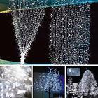 10M 100 LED White Xmas Christmas Party String Fairy Wedding