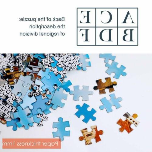 1000 Pieces Adult Kids Toy Decoration Jigsaw