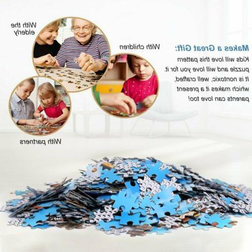 1000 Pieces Children Kids Puzzles Decoration Jigsaw