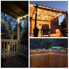 33ft 100LED Copper Wire Lights Waterproof Wire Rope Lights O