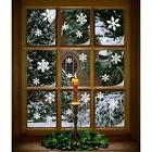 102 GrownUp Toys Pcs White Snowflakes Window Clings Decal St