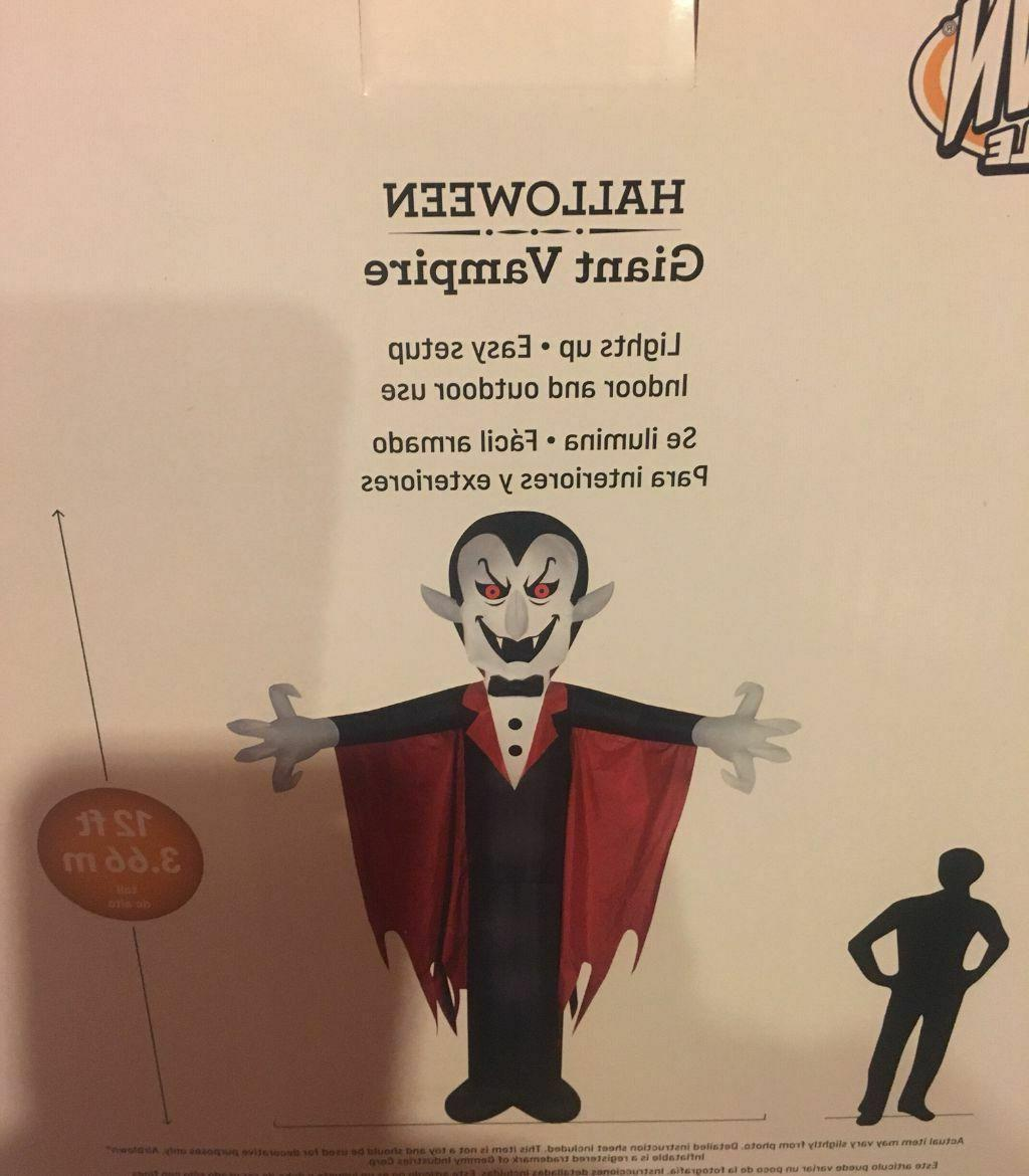 Gemmy 12' Dracula with Airblown Inflatable