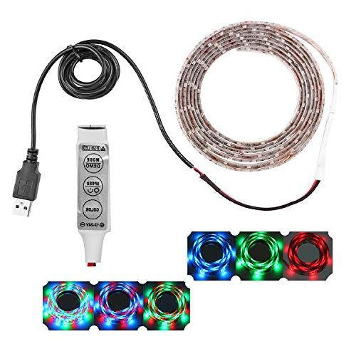 120leds resin flexible changing usb