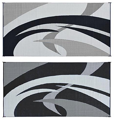 159181 black white swirl pattern