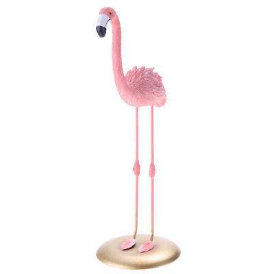 1pc resin flamingo large birds garden decoration