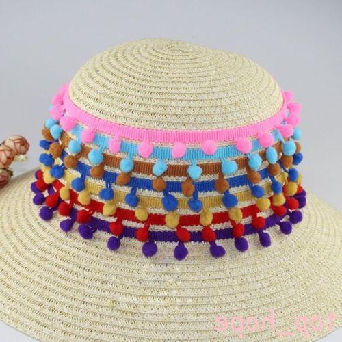 1Yard PomPom Beadsed Lace DIY Decor