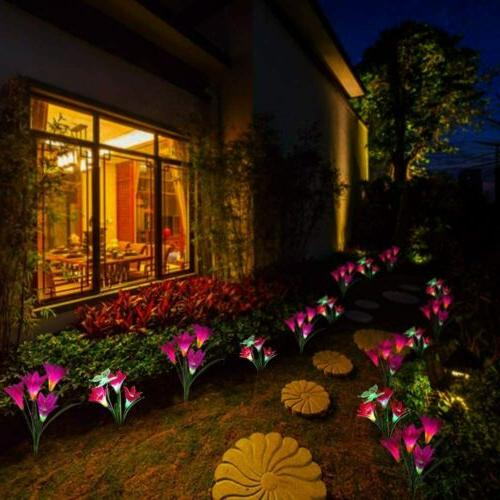 2-pack Garden Yard Decor Lamp