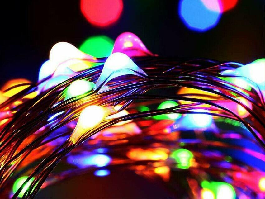 200 Fairy String Light Wire Waterproof Garden Decor
