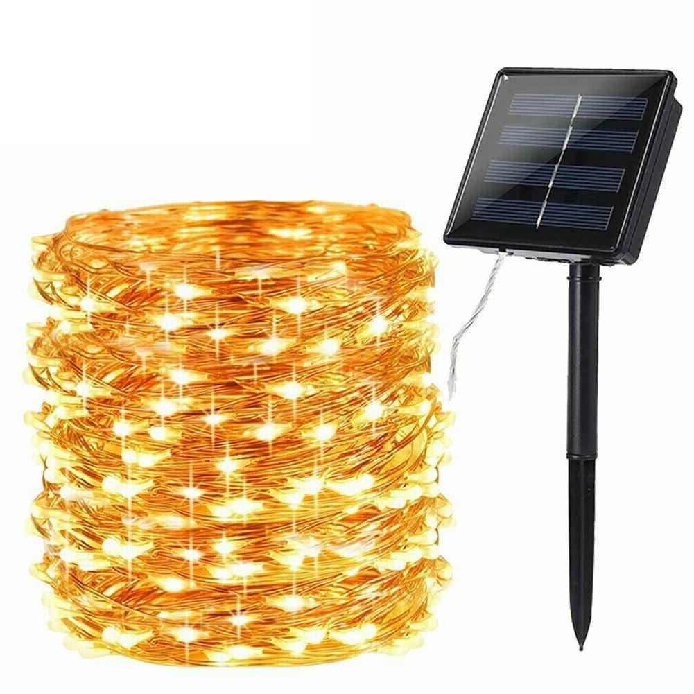 200 72′ Solar Fairy Wire Outdoor Waterproof Garden Decor