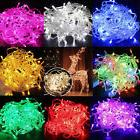 10M String 100 LED Christmas Tree Fairy Party Lights Lamp Xm