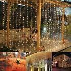 9.8ftx6.6ft 224LED Christmas xmas String Fairy Wedding Curta