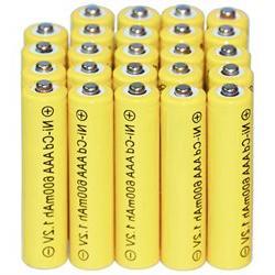 24AAA Rechargeable Batteries NiCd 600mAh 1.2v Garden Solar N