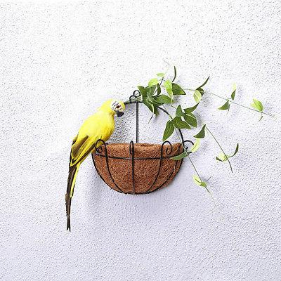 25/35cm Parrot Lawn Yard Garden Decor
