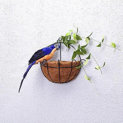 25/35cm Parrot Animal Bird Lawn Ornament Yard Garden Decor Newly
