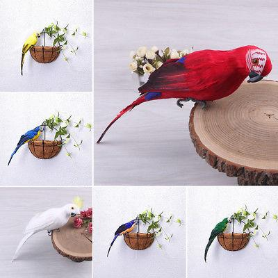 25 35cm parrot animal bird lawn figurine