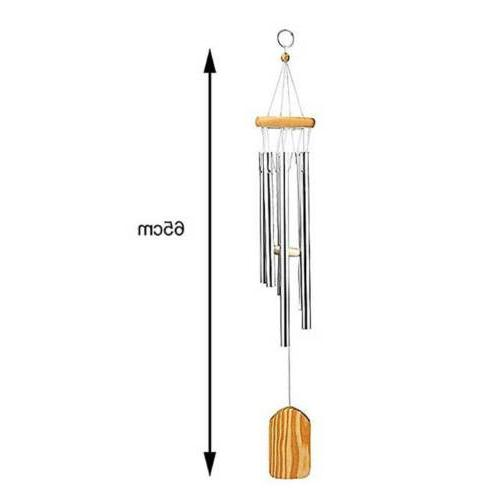 "25"" Wind Chimes Tubes Hanging Outdoor Garden"