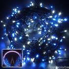 250Led 164Ft White Blue String Fairy Lights For Christmas Tr