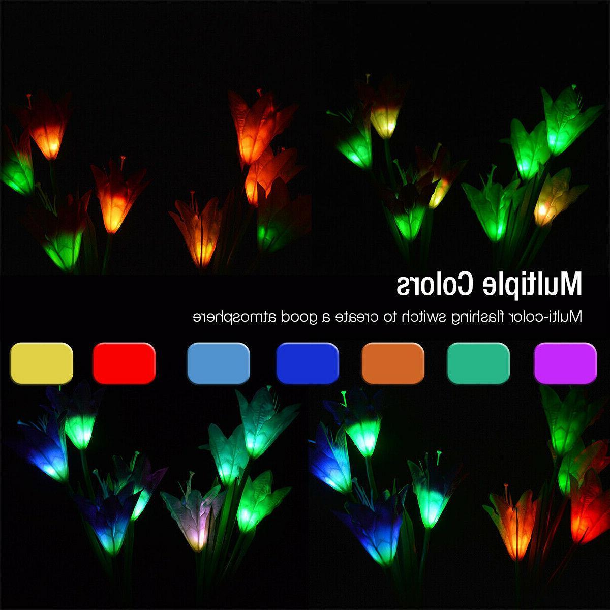 Flowers Lights LED Multi-Color Lamp