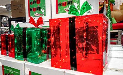 3 Gift Boxes Christmas 150 Lights Indoor Buyer's Choice