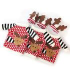 3 Set Wine Bottle Cover Bag Xmas Santa Table Decor Christmas