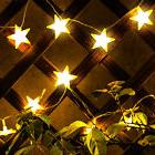 New 10ft 30 LED Lights Star Fairy Lights Battery Operated St