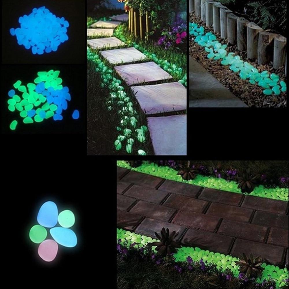 30 Glow in Glow for Walkways Garden Path Lawn <font><b>Yard</b></font> Luminous