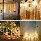 304 LED Christmas xmas String Fairy Wedding Curtain Light Wa