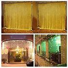 9.8ftx9.8ft 304 LED Christmas xmas String Fairy Wedding Curt