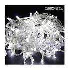33FT/10M COOL WHITE 100 LED Twinkle Fairy String Party Light