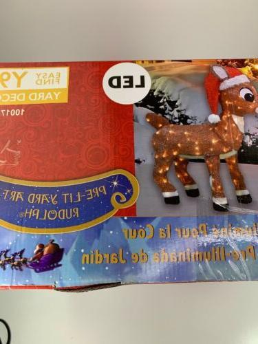 Rudolph 3D LED Rudolph-20341_THD Santa Yard