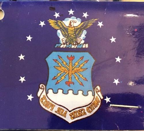 3x5 u s air force flag crest