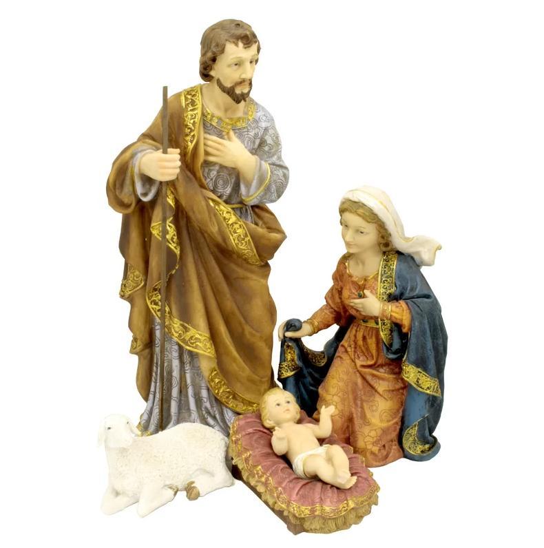 4 Set Outdoor Decor Decoration Jesus Mary