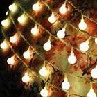 40 LED Solar Charging Light String Garden Wedding Christmas