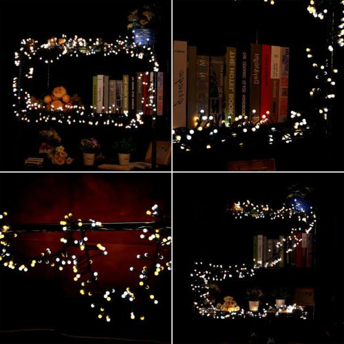 400 LED Globe Lights Christmas for Home Decor