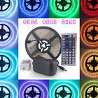 5M 3528 5050 5630 RGB/White SMD 300/600LED Strip Light 44key