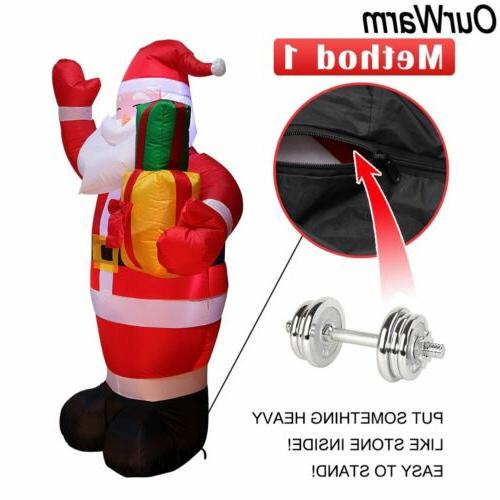 5FT Inflatable Christmas Blown Light Yard Decor