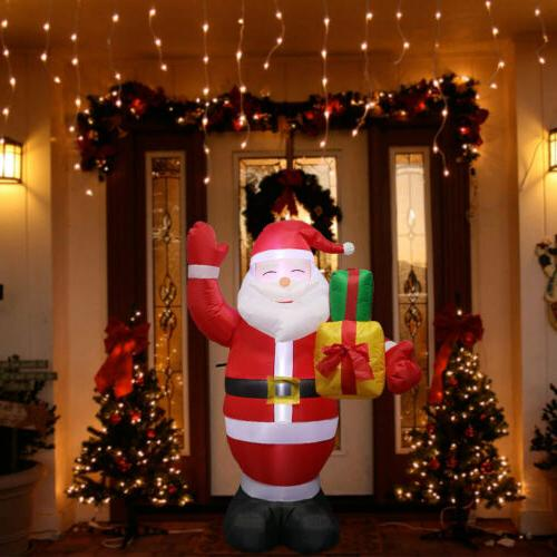 5FT Inflatable Christmas Air Blown Light Yard Decor