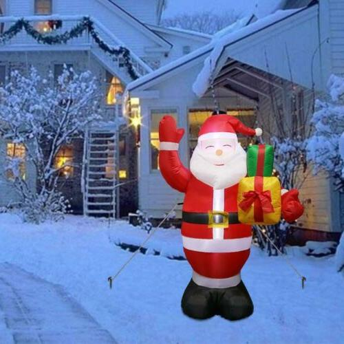 5FT Inflatable Christmas Blown Claus with Light Yard Decor