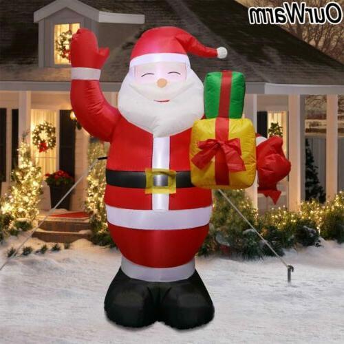 5ft inflatable christmas air blown santa claus