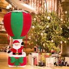 6' Ft Inflatable Santa Clause Hot Air Balloon Airblown Chr
