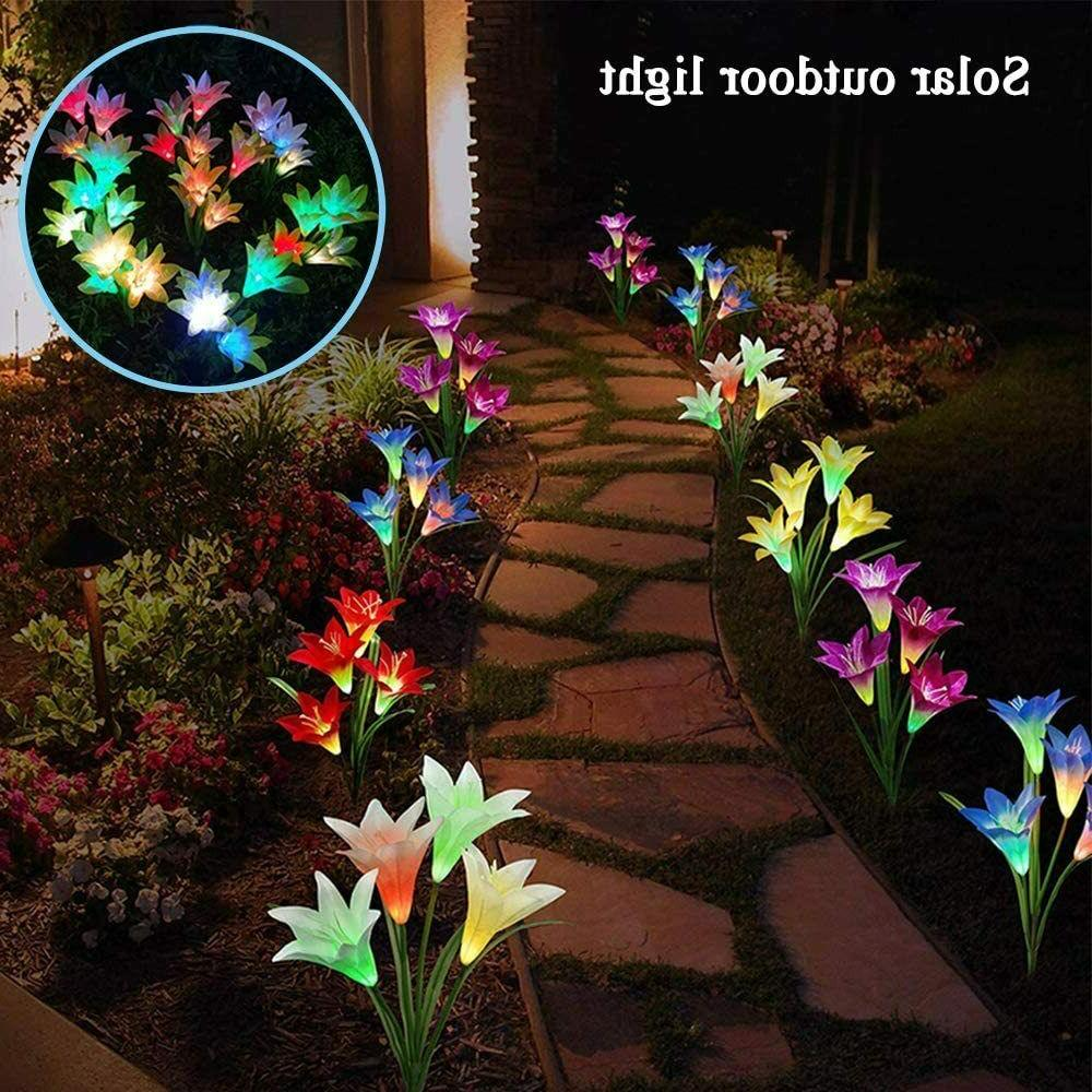 6 Solar Flowers Lights