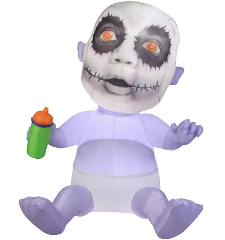 "65"" Halloween Zombie Baby Yard Decor"