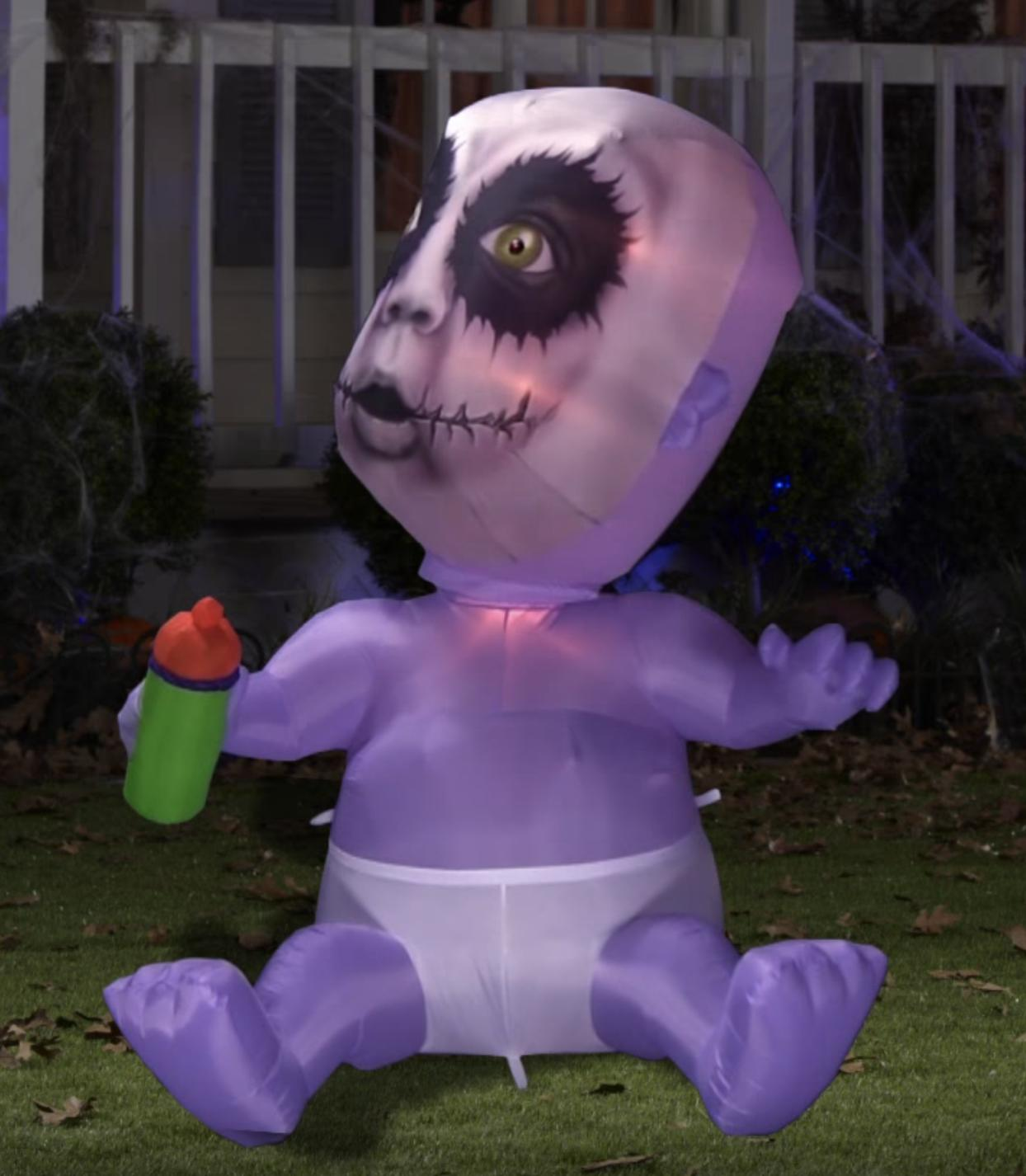 "65"" Gemmy Zombie Airblown Inflatable Yard"
