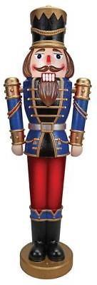 """68"""" ANIMATED MUSICAL LED LIGHTED NUTCRACKER SOLDIER OUTDOOR"""