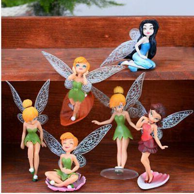 6pcs Fairy Miniature Yard Gift