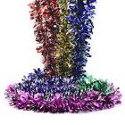 6xElegant Holiday Party Ceromony Hanging Tinsel Garland Chri